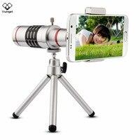 New العالمي كاميرا 18x زووم بصري تلسكوب مع ميني ترايبود للهواتف ip سام ملاحظة 2 3 4 5 جالاكسي s4 s5 s6 s7 حافة