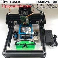 10W diy laser engrave machine laser cutter 14*20cm area,10000MW DIY laser engraving machine,diy marking machine, advanced toys