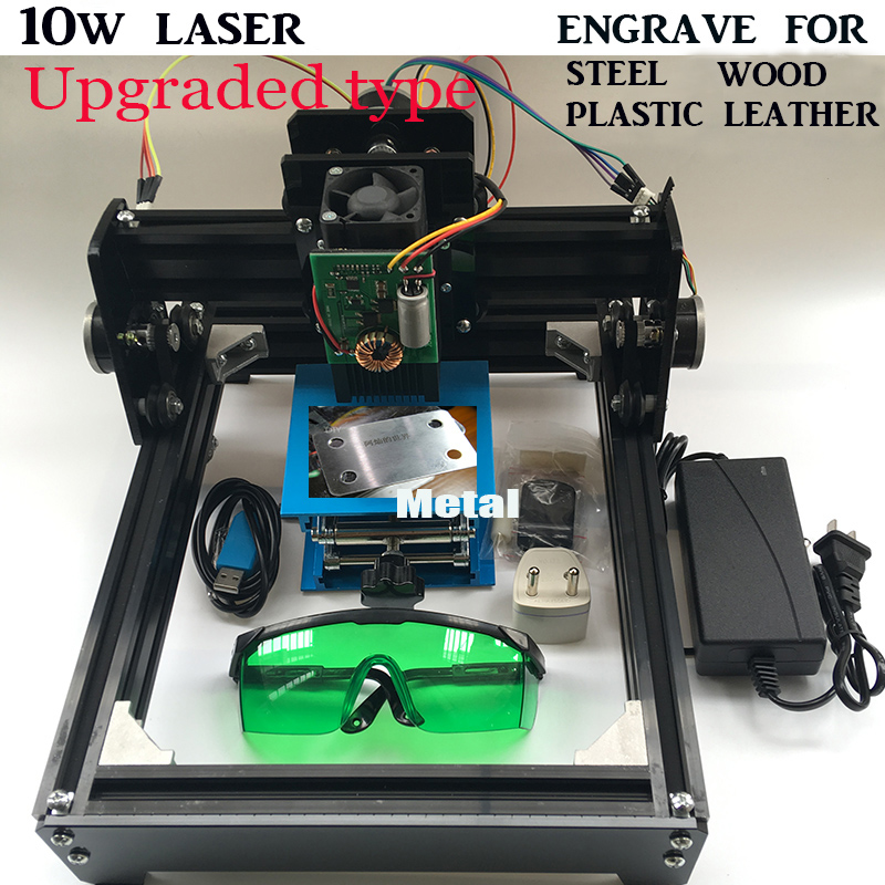10W diy laser engrave machine laser cutter 14*20cm area,10000MW DIY laser engraving machine,diy marking machine, advanced toys10W diy laser engrave machine laser cutter 14*20cm area,10000MW DIY laser engraving machine,diy marking machine, advanced toys