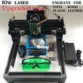 ShipDHL 10 Вт лазерный резак 14*20 см, 10000 МВТ DIY лазерный гравировальный станок, diy маркировочная машина, diy лазерной гравировки машина расширенный игрушки