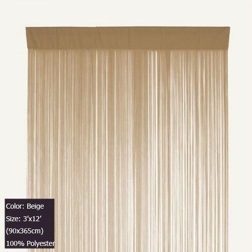 Aliexpress.com : Buy Beige Tassel Door Curtain String Curtain ...