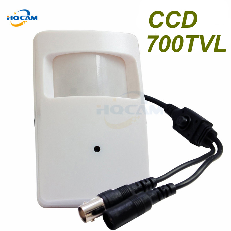 HQCAM OSD Menu 1/3 Sony CCD 960H 700tvl Security Indoor CCTV Mini PIR Style Camera Mini Ccd Surveillance Camera 4140+810\811 700tvl sony 811 810 nextchip2090 osd menu mini bullet camera mini ccd outdoor waterproof 2 8mm cctv security camera for 960h dvr