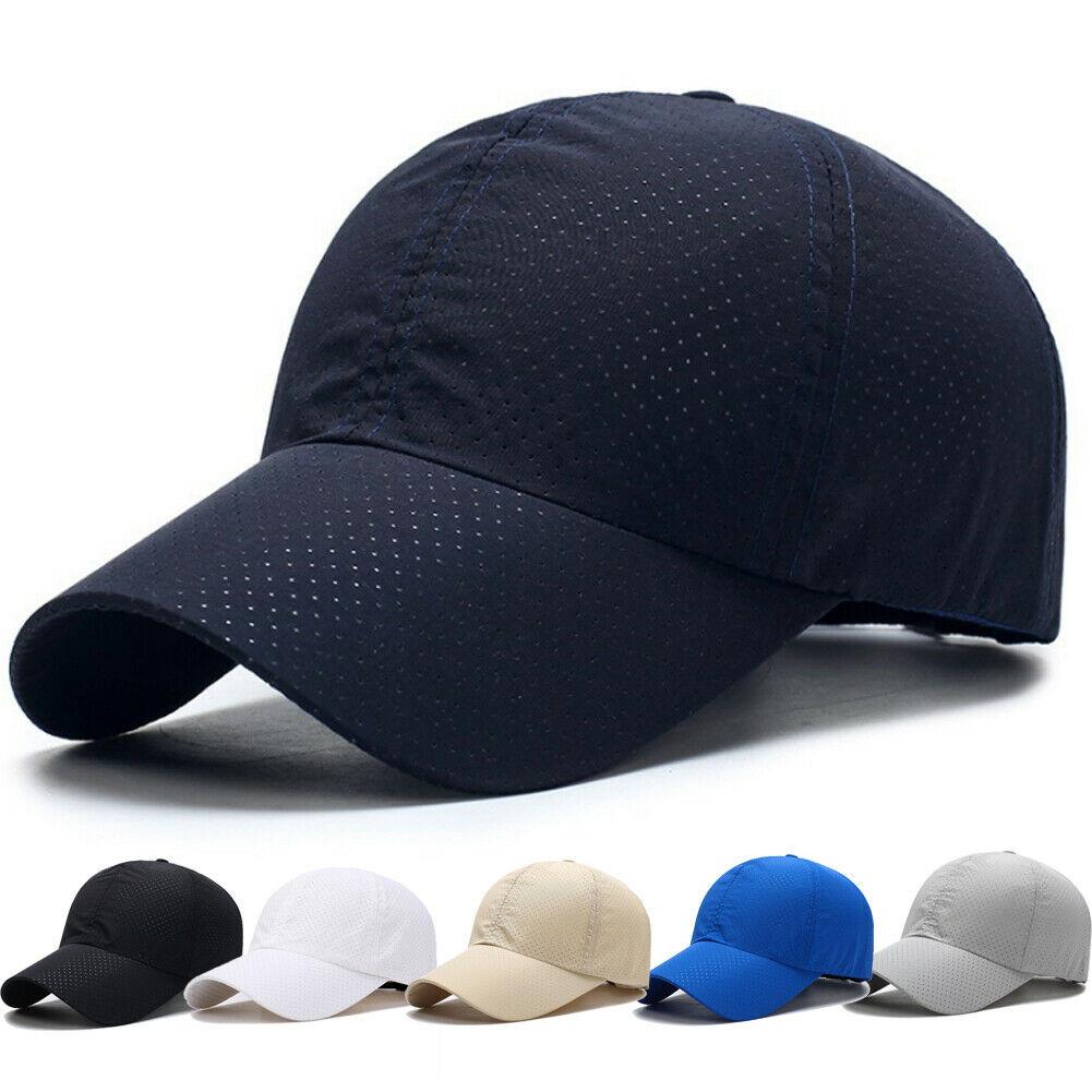 Plain Baseball Caps Mens Baseball Caps Unisex Peak Summer Hats Sports Cap