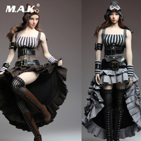 In Stock 1/6 Female Clothes Steam Punk Dress Set & Accessories without Body and Head A/B Styles For 12 Woman Action Figure