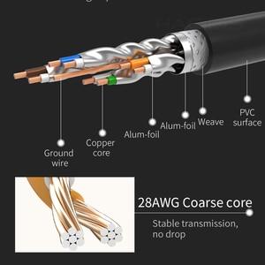 Image 5 - Кабель hagибис Cat7 Ethernet RJ45 кабель Lan Сетевой кабель патч корд для кабеля маршрутизатора ноутбука Ethernet 1/2/3/5/8/10/15/20/30/50 м