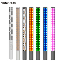YONGNUO YN360II YN360 II GHIACCIO/Pixel HA CONDOTTO il Bastone Bicolor 3200k 5500k App di controllo Bluetooth Video Luce RGB colorful Photo LED Bastone