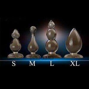 Image 2 - Leten 실리콘 항문 공, 항문 플러그, 엉덩이 플러그, 항문 Dildo 항문 섹스 토이 여성과 남성을위한 성인 용품, 진동 없음