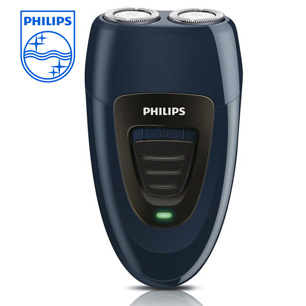 PHIILPS Electric Shaver Double Heads PQ192 Black Easy to Carry with Rechargeable Electric Shaver For Men 220V