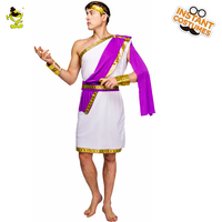 QLQ Men Roman Costume New Fancy Dress Roman Clothes Performance Carnival Party Role Play Traditional Roman Costumes Adult Man
