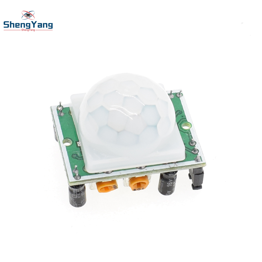 1pcs Shengyang Hc Sr501 Adjust Ir Pyroelectric Infrared Pir Motion Sensor With Arduino Detector Module For Raspberry Pi Kits In Sensors From Electronic