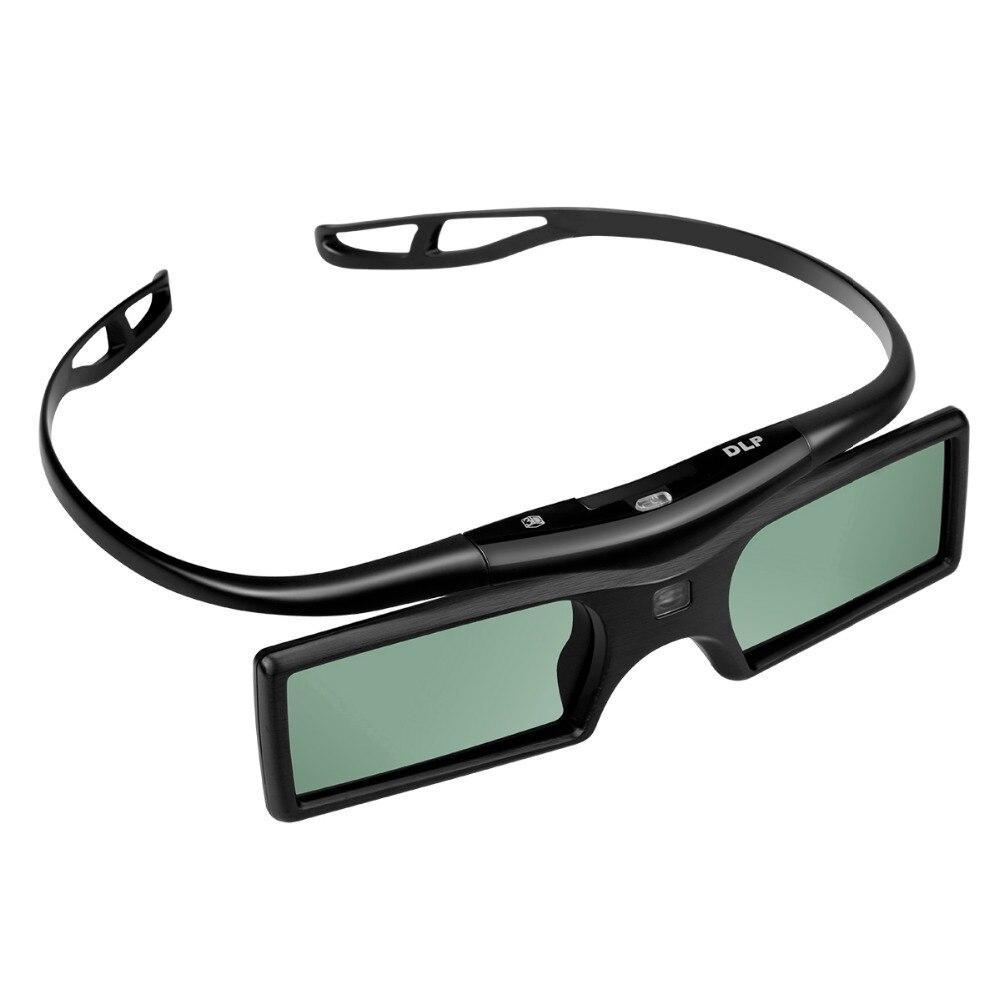 3D Active DLP-Link Shutter Glasses For Optama Acer BenQ NEC ViewSonic Sharp Dell