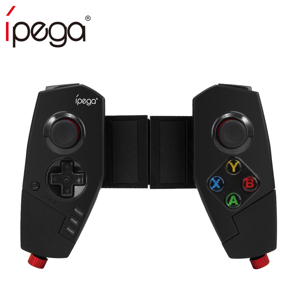 iPega PG-9055 PG 9055 Wireless Bluetooth Game Controller Joystick Gamepad with Bracket for iOS ipad Android Smart Phone TV Box ipega ios gamepad pc bluetooth wireless smart phone switch controller with lcd screen mobile game pad joystick android pg 9063