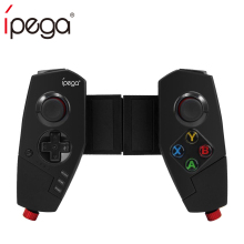 iPega PG-9055 PG 9055 Wireless Bluetooth Game Controller Joystick Gamepad with Bracket for iOS ipad Android Smart Phone TV Box