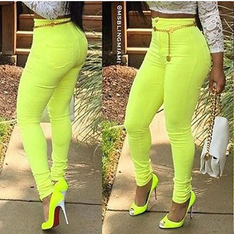 Popular Bright Green Pants-Buy Cheap Bright Green Pants lots from ...