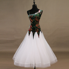 Standard Ballroom Dance Dress Adult Elegant White Waltz Dance Skirt Women High Quality Ballroom Competition Dancing Dresses standard ballroom dresses women 2019 new design white waltz dancing skirt adult high quality ballroom competition dance dress
