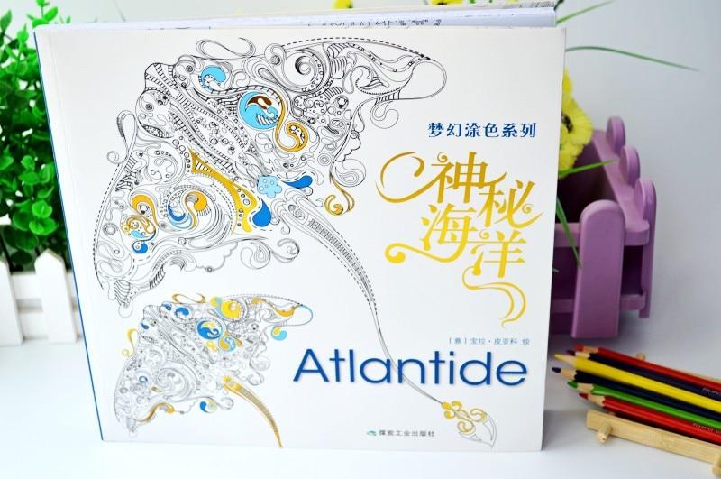 colorir para crianças adultos presentes anti-stress graffiti