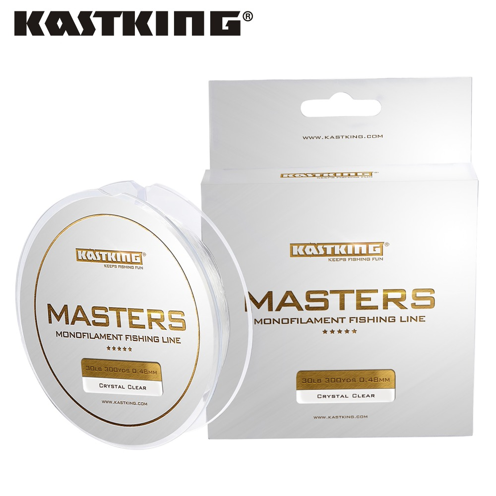 KastKing M 300Yds/274 M Master Tournament grado monofilamento pesca línea fuerte Japón carpa salada pesca Mono línea Cable