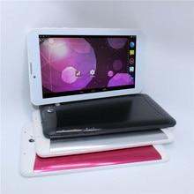 Tableta de 7 pulgadas MTK6572 2G/3G llamada de Teléfono de Doble SIM Bluetooth Doble cámara de Doble Núcleo 512 MB/4 GB Android 4.2 tablet! el envío gratuito! CALIENTE