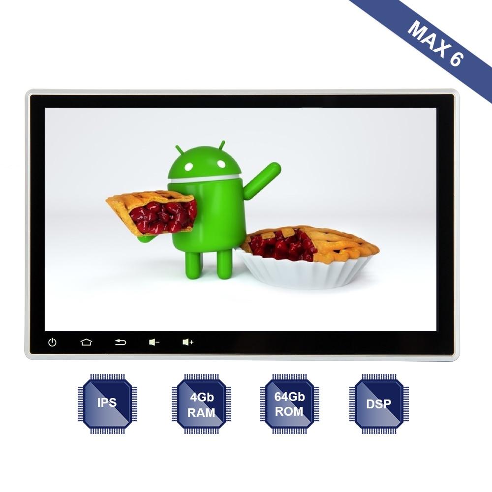 Android 9 0 Car Radio GPS 1 Din Universal 10 2 IPS Screen Multimedia Player 4Gb