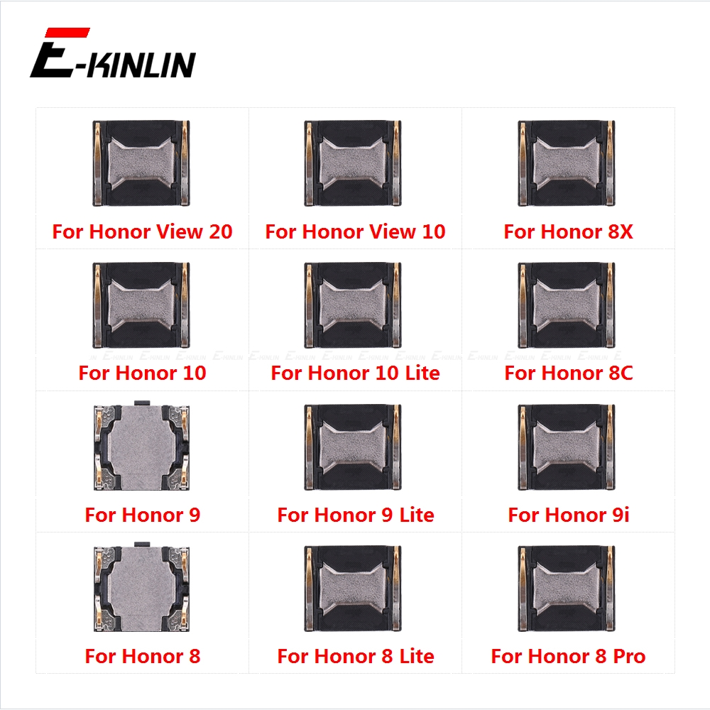 Earpiece Receiver Front Top Ear Speaker Repair Parts For HuaWei Honor View 20 8X 9X 8C 10i 10 9 9i 8A 8 Pro Lite