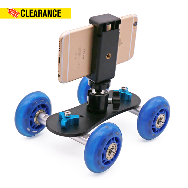 Ulanzi Smartphone Rolling Slider Video Dolly Car with