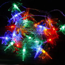 Dragonfly Lights LED Holiday Lighting Strings Christmas Lamp Garland Chandelier for New Year Fairy Wedding Garden Decoration