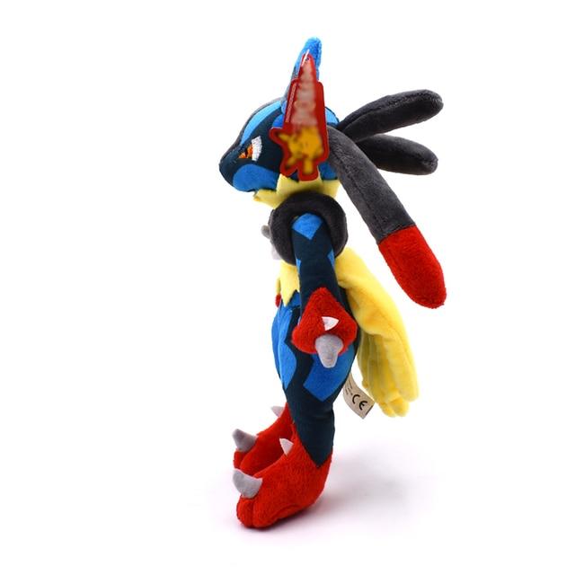 Аниме игрушка Покемон Лукарио 28 см 2