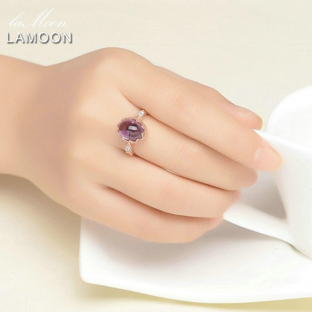 LAMOON 925 სტერლინგი - ლამაზი სამკაულები - ფოტო 2