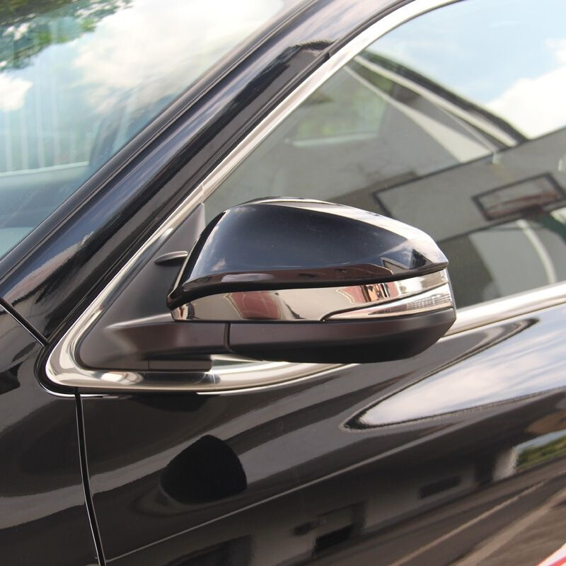 2 pcs ABS Chrome Rear View Side Mirror Cover Decoration Trims For Toyota <font><b>RAV</b></font> <font><b>4</b></font> Accessories 2014 2015 2016 2017 <font><b>2018</b></font> image