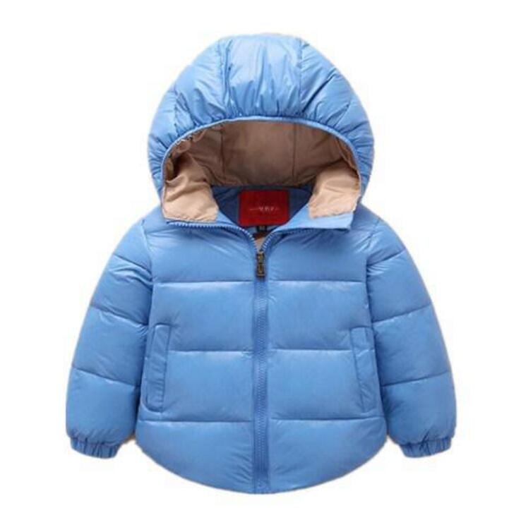 2017 new jacket for girls coats white duck down kids clothes 5 colour Baby Winter Coats warm Winter Jackets For Toddler Girls