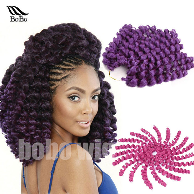 Freetress Ombre Wand Curl Bounce twist braid Marley Afro