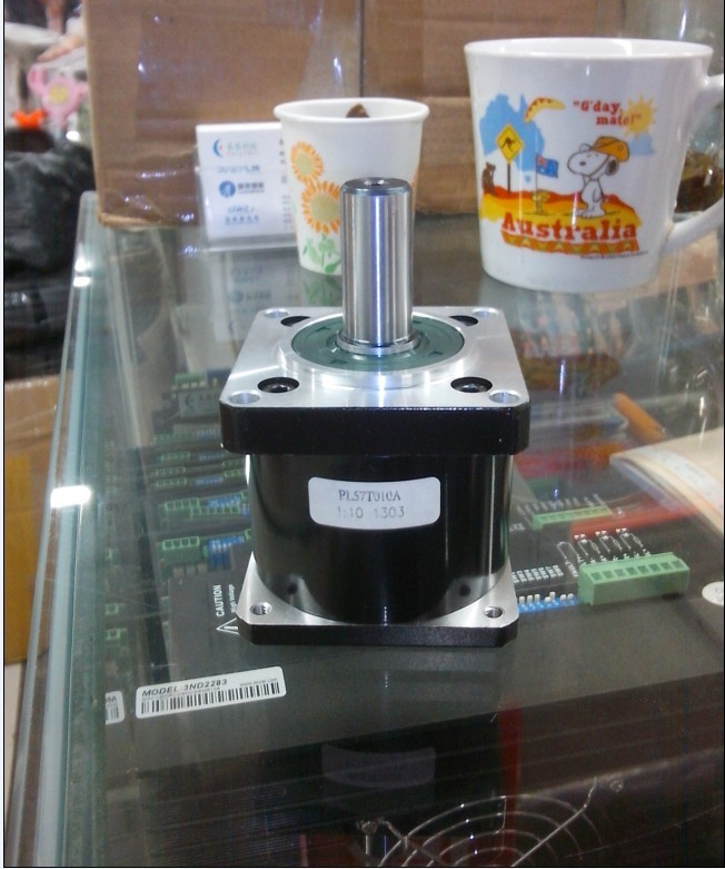 New planetary speed reducer 1:10 motor reducer fit for the Shaft length 9MM Shaft Diameter 8MM can press about 1 TN