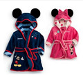 Children's Pajamas Robe Kids robes Baby Homewear Boys Girls Cartoon Flannel Robe