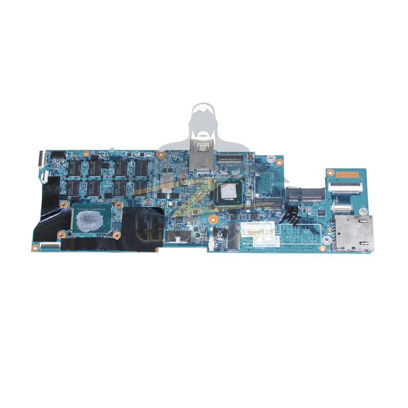 04Y1730 48.4RQ21.011 for lenovo thinkpad X1 Carbon <font><b>laptop</b></font> motherboard QS77 4GB <font><b>ram</b></font> on board image
