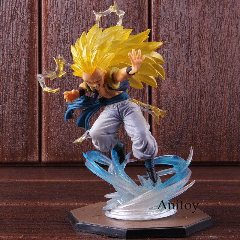 Anime Dragon Ball Super Saiyan 3 Gotenks PVC Action Figure Collectible Model Toy 16cm KT1904 1