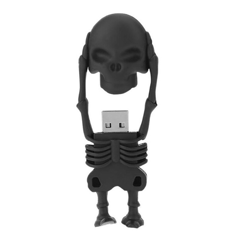 Skeleton USB 3.0 Storage Flash Disk Pendrive 64GB 32GB 4GB Usb Flash Drive 128GB 16GB 8GB Portable U Disk Memory Stick