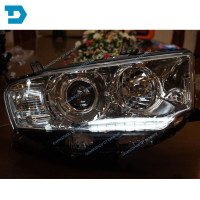 hid HEAD LAMP FOR PAJERO SPORT FRONT LAMP FOR MONTERO SPORT CHALLENGER TURNING LAMP hid HEADLIGHT top version with motor no bulb