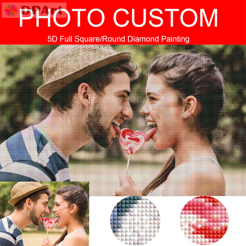 DP art Diamond Painting Photo Custom Private Custom 5D