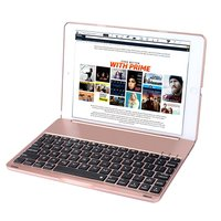 New Slim Wireless Bluetooth Keyboard Case For New IPad 2017 Protective ABS Cover For Apple 2017
