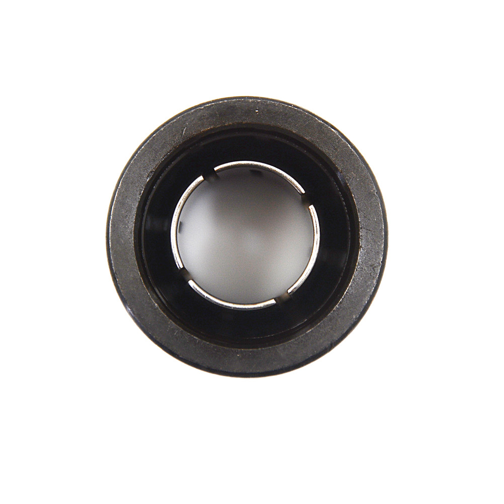 """One Piece 1/2"""" Collet Nut Plunge Router Parts Black Metal 22.5x27mm With High Hardness"""