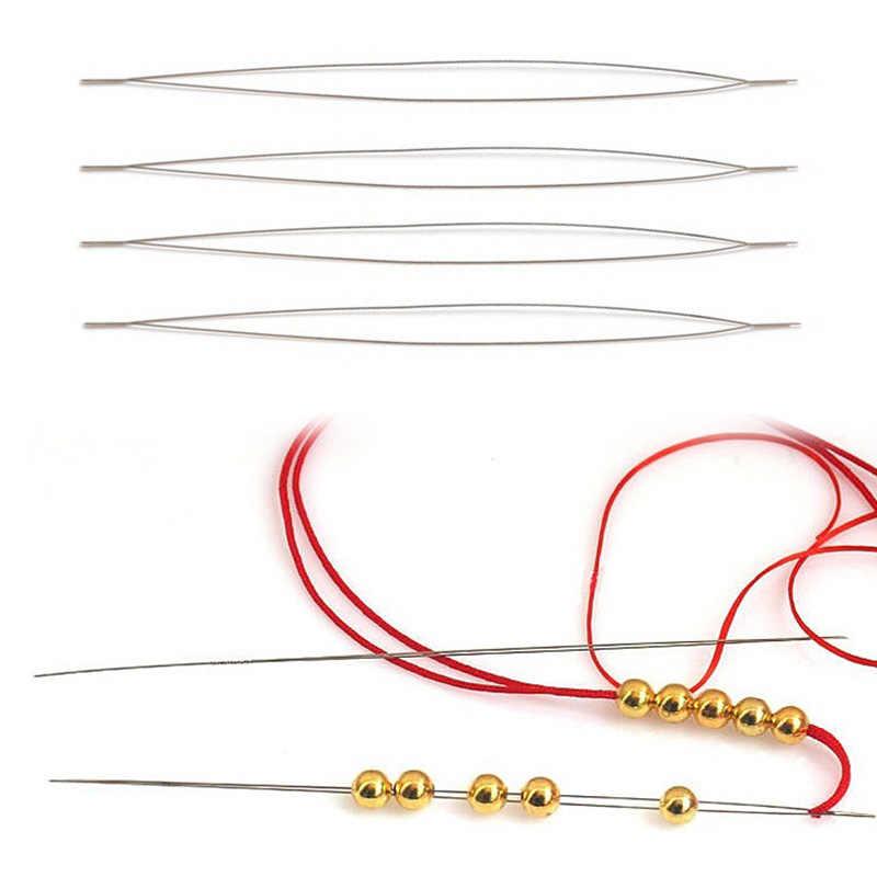 Threading Schmuck Friesen Werkzeug Schnur Handgemachte Armbänder Pins Needl 1pc Neue Elastische Perlen Einfach 125mm DIY