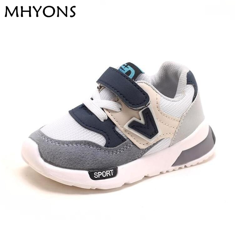 MHYONS Kids Shoes For Boys Girl Children Casual Sneakers Baby Girl Air Mesh Breathable Soft Running Sports Shoe Pink Silver