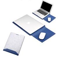 New Felt Nylon Liner Sleeve Bag For Macbook Air Pro Retina 11 1213 15 Laptop Pouch