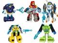 Nova Solto Original Playskool Heróis Resgate Bots Boulder a Construção de Transformação Optimus Prime Bumblebee Toy Presente Para O Menino