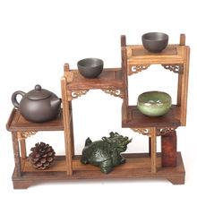 Old Boxwood Carving Used For Place Little Items Decorated Beautiful Big Shelf *