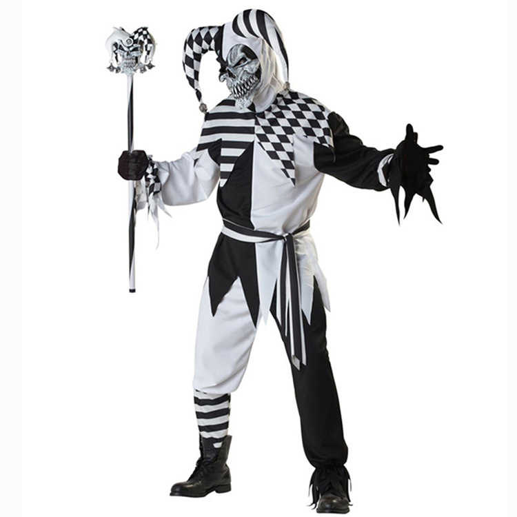 deluxe killer clown adults halloween fancy dress mens circus horror costume new in scary costumes from novelty special use on aliexpresscom alibaba