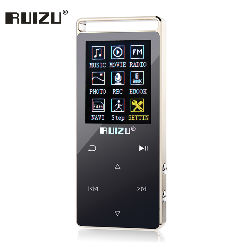 MP4 Player Touch Key metal mp3 player 8GB Support 64GB SD Card with Game Movies FM Radio Photo Viewer HIFI mp3 music player