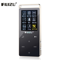MP4 Player Touch Screen metal mp3 player 8GB Support 64GB SD Card with Game Movies FM Radio Photo Viewer HIFI mp3 Music player