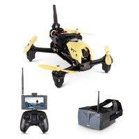 (Очки версия) hubsan H122D X4 Strom FPV RC Камера Drone Quadcopter с 720 P Камера/HV002 Googles Совместимость Fatshark