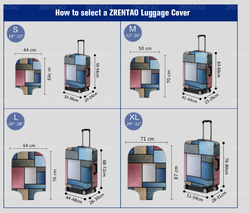 suitcase protective covers 4